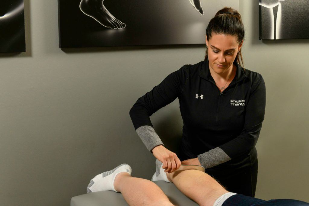 physical therapy muscle strain