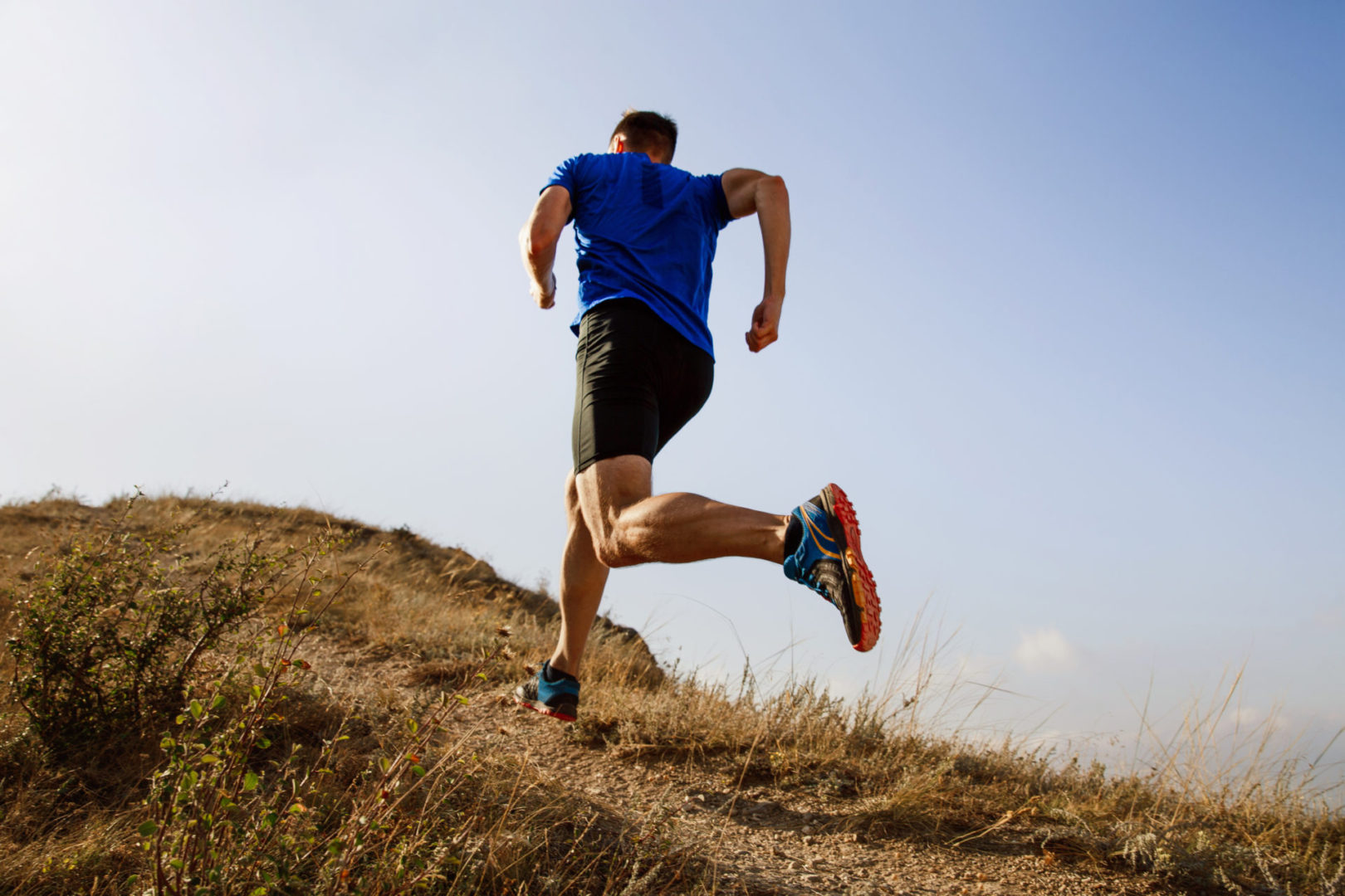 uphill running to stop overstriding